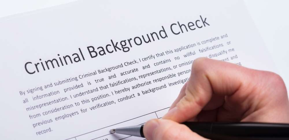 Pass a background check